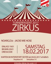 Turnerfasent 2017 – Zirkus